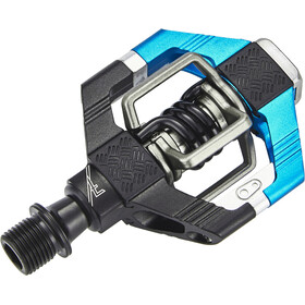 Crankbrothers Candy 7 Pedali, black/electric blue